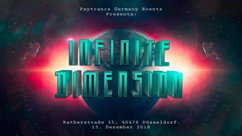Party Flyer INFINITE DIMENSION w/Rematic Live (DÜSSELDORF) 15 Dec '18, 22:00