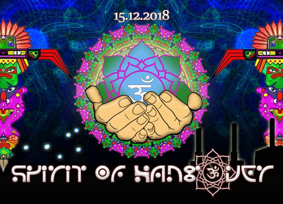 Party Flyer Spirit of Hangover 15 Dec '18, 23:00