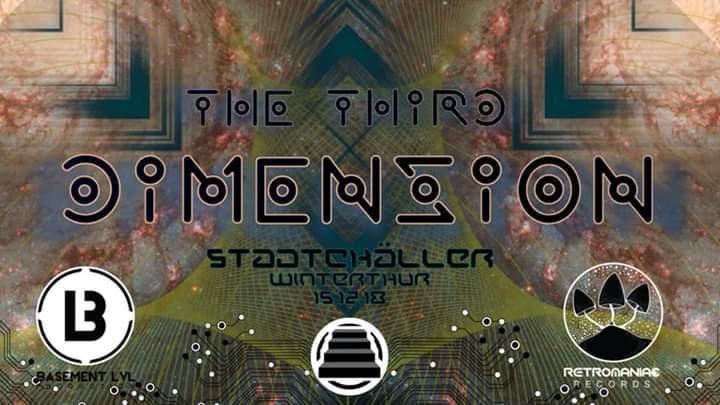 Party Flyer *•The Third Dimension // Mystical Complex Live •* 15 Dec '18, 23:00