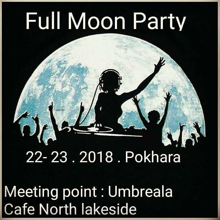 Party Flyer Full Moon Party 22 Dec '18, 01:00