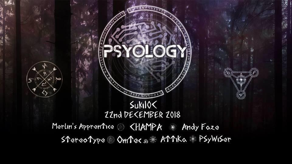 Party Flyer Psyology 22 Dec '18, 22:00