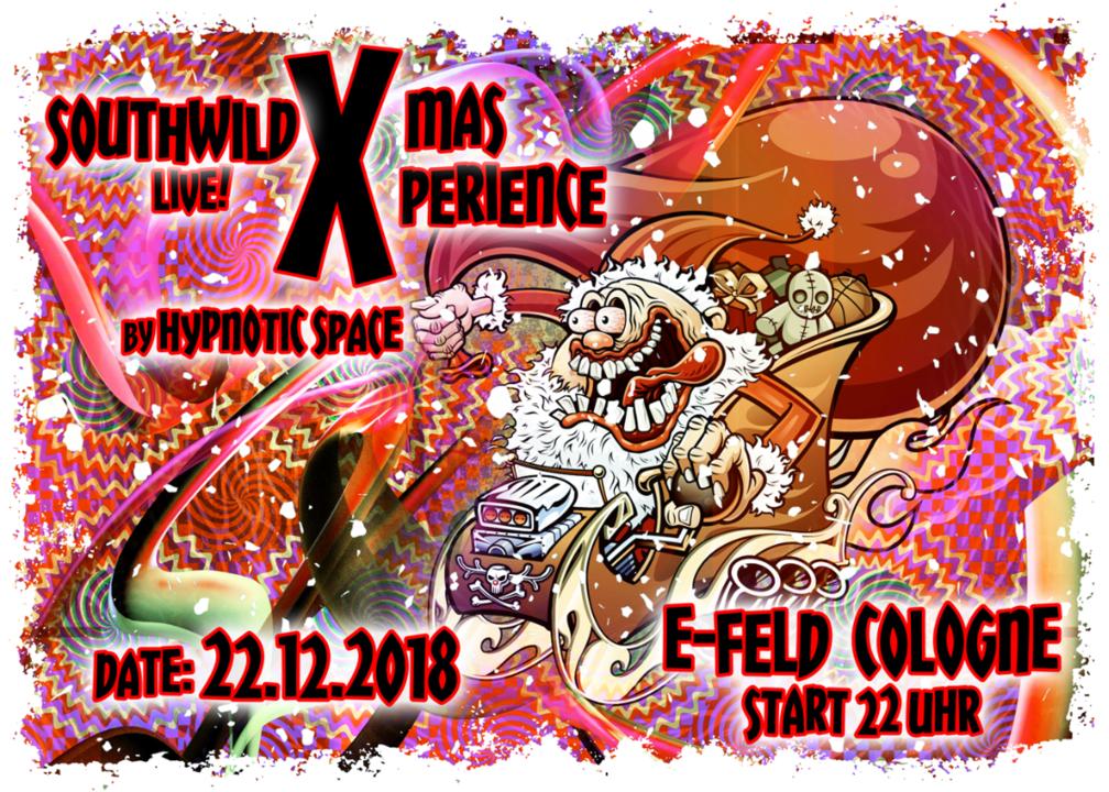 Party Flyer Xmas Xperience ( SOUTHWILD LIVE ) 22 Dec '18, 22:00
