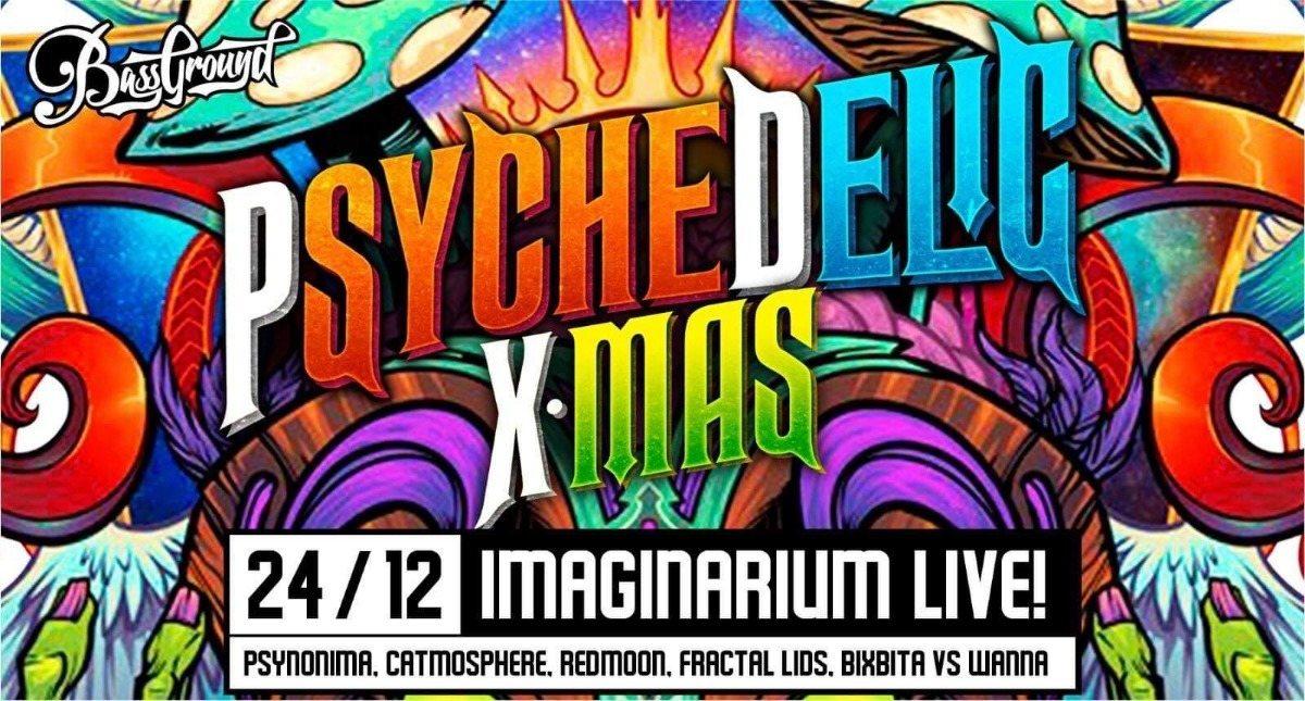 Party Flyer Psychedelic X-MAS 2018 24 Dec '18, 23:30