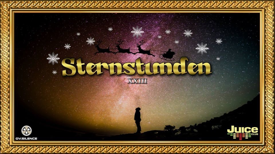 Party Flyer Sternstunden XXIII 24 Dec '18, 23:00
