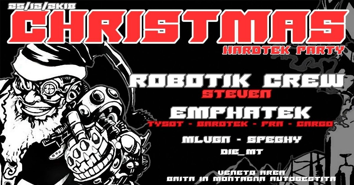 Party Flyer christmas hardtek party 25 Dec '18, 22:00
