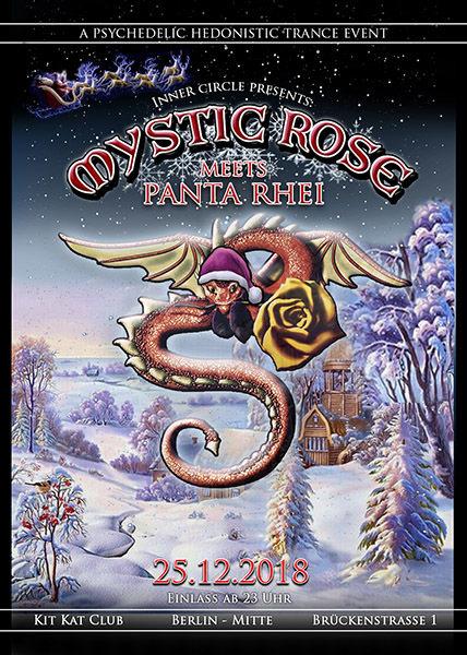 Party Flyer The Mystic Rose meets Panta Rhei 25 Dec '18, 23:00