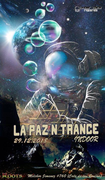 Party Flyer La Paz N Trance | Indoor 29 Dec '18, 22:00