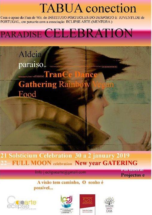 Party Flyer PARADISE CELEBRATION 30 Dec '18, 16:00