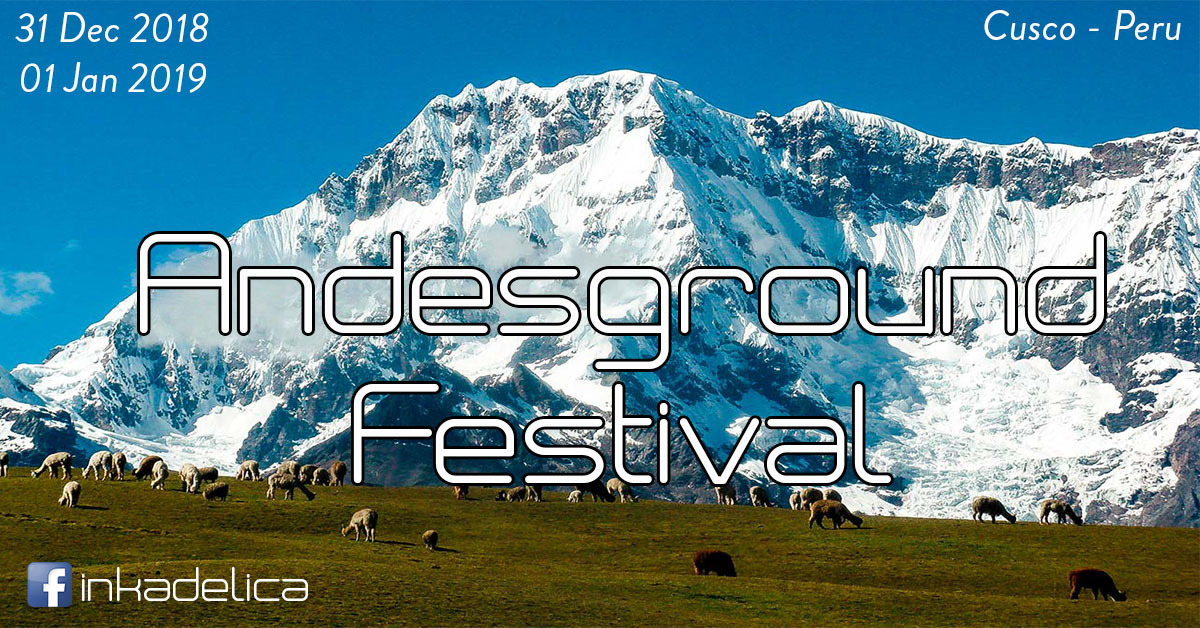 Party Flyer Andesground Festival 31 Dec '18, 22:00