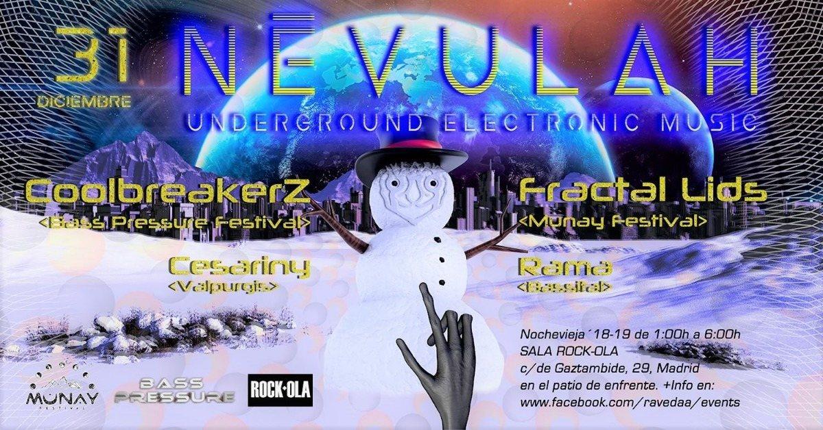 Party Flyer Fiesta Névulah Next 31:12 31 Dec '18, 23:30