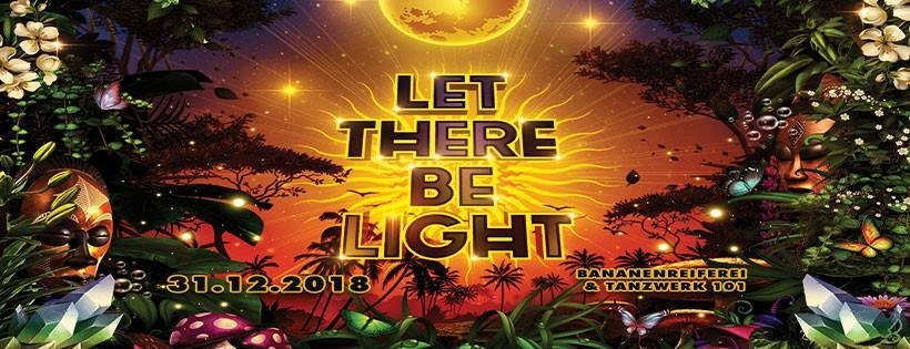 Party Flyer Let There Be Light 31 Dec '18, 22:00