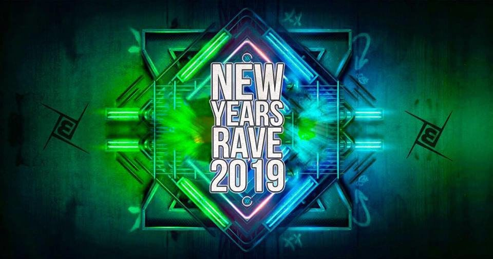Party Flyer NEW YEARS RAVE 2019 31 Dec '18, 22:00
