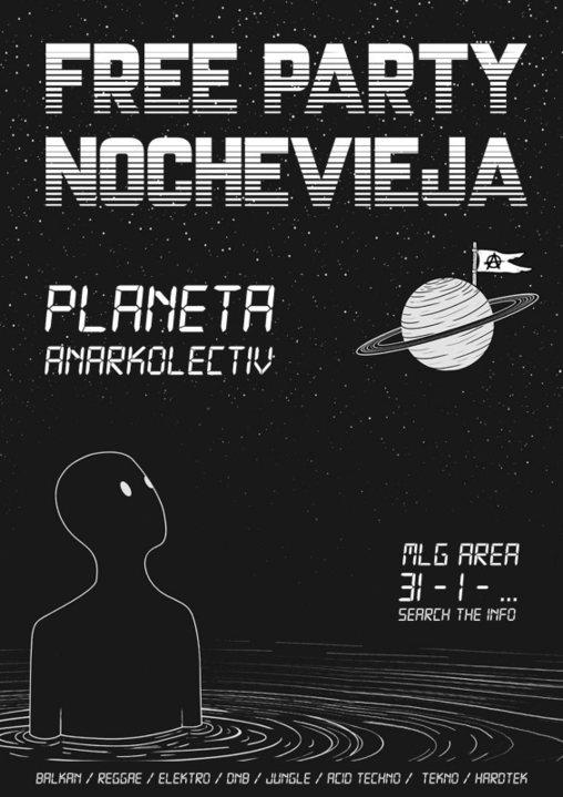 Party Flyer Nochevieha AnarKolectiV! 31 Dec '18, 23:30