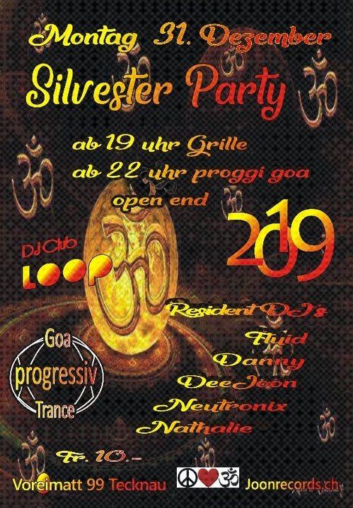 Party Flyer Proggi Goa Silvester Party 31 Dec '18, 19:00