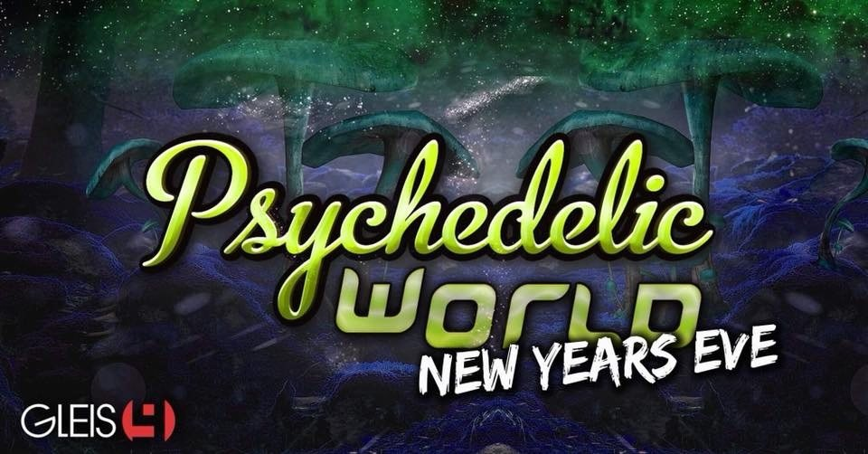 Party Flyer Psychedelic World|New Years Eve 2018 31 Dec '18, 22:00