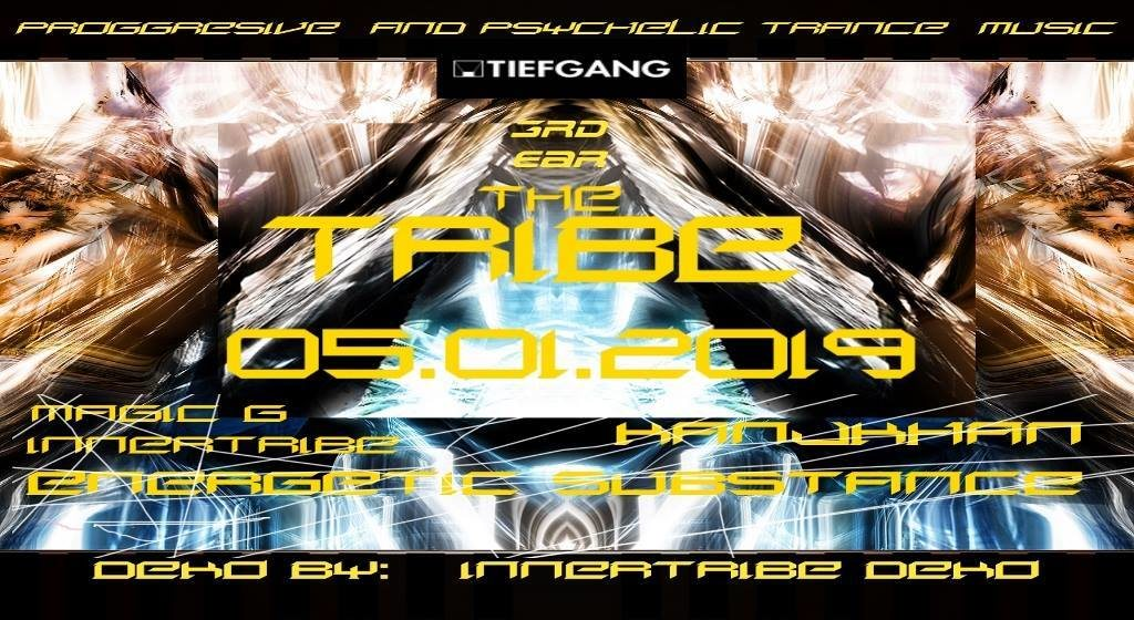 Party Flyer the TRIBE 5 Jan '19, 23:00