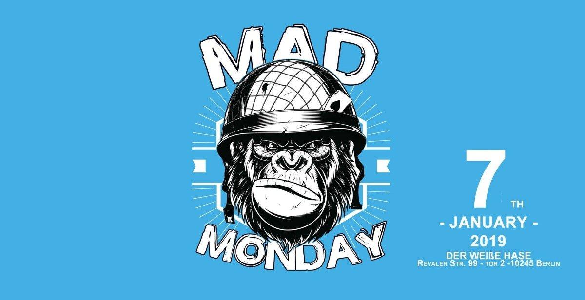 Mad Monday • Ears & Eyes Berlin Showcase | 07.01.19 7 Jan '19, 23:00