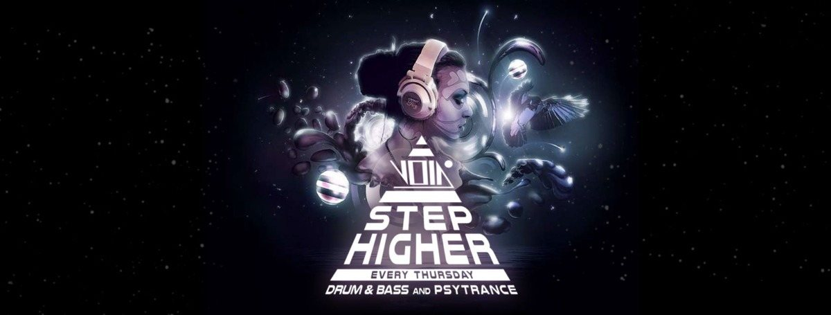 Party Flyer Step higher 10 Jan '19, 23:00
