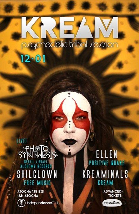 Party Flyer KREAM 12.01 12 Jan '19, 23:30