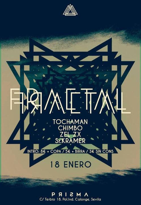 Party Flyer Prisma • Fractal - Viernes 18 Enero 18 Jan '19, 23:30