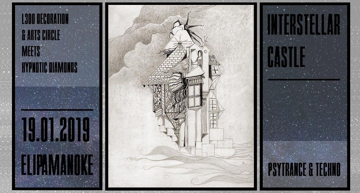 Party Flyer Interstellar Castle w/ Lunatica 19 Jan '19, 22:30