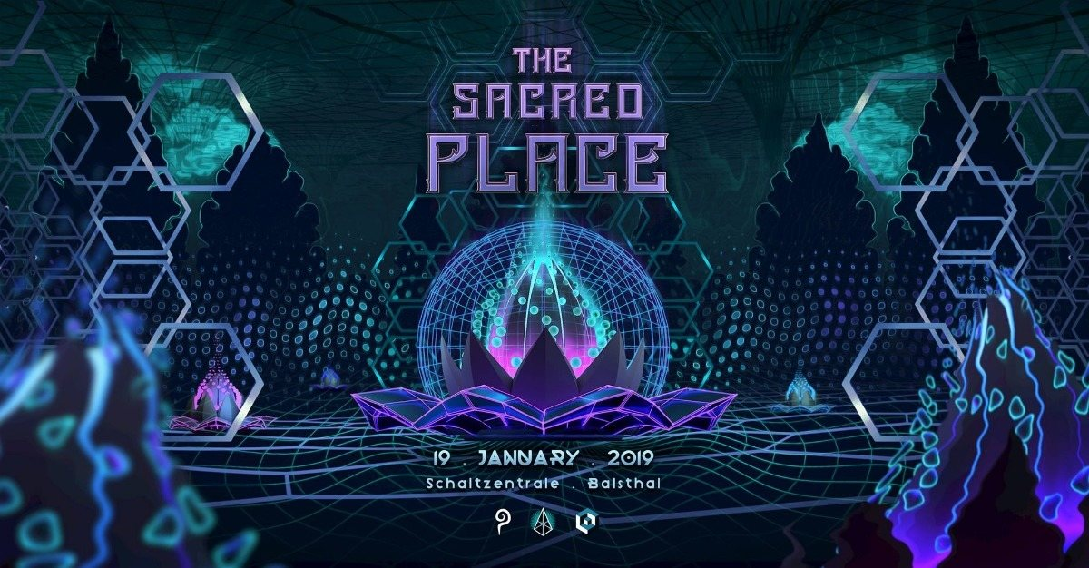 Party Flyer The Sacred Place 19 Jan '19, 22:00