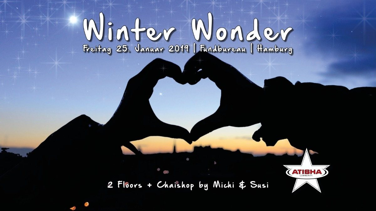 Party Flyer Atisha: Winter Wonder (TranceDance Special) 25 Jan '19, 22:00