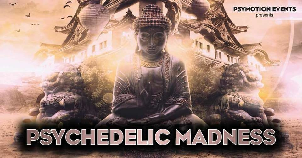 Party Flyer Psychedelic Madness #9 - Hi-Tech Edition 26 Jan '19, 23:00