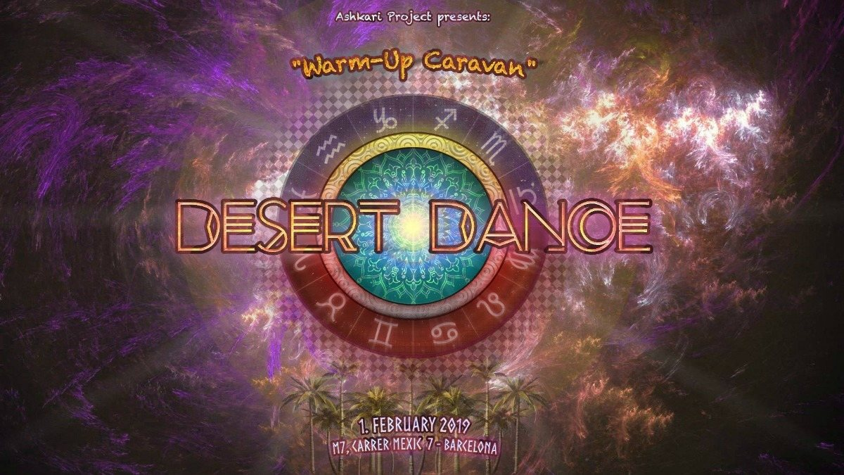 Ashkari Project y Unicorn Crew presenta: Desert Dance Preparty 1 Feb '19, 23:30