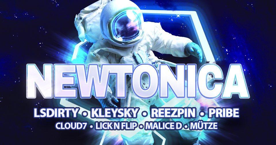 Party Flyer Newtonica 2019 1 Feb '19, 22:00