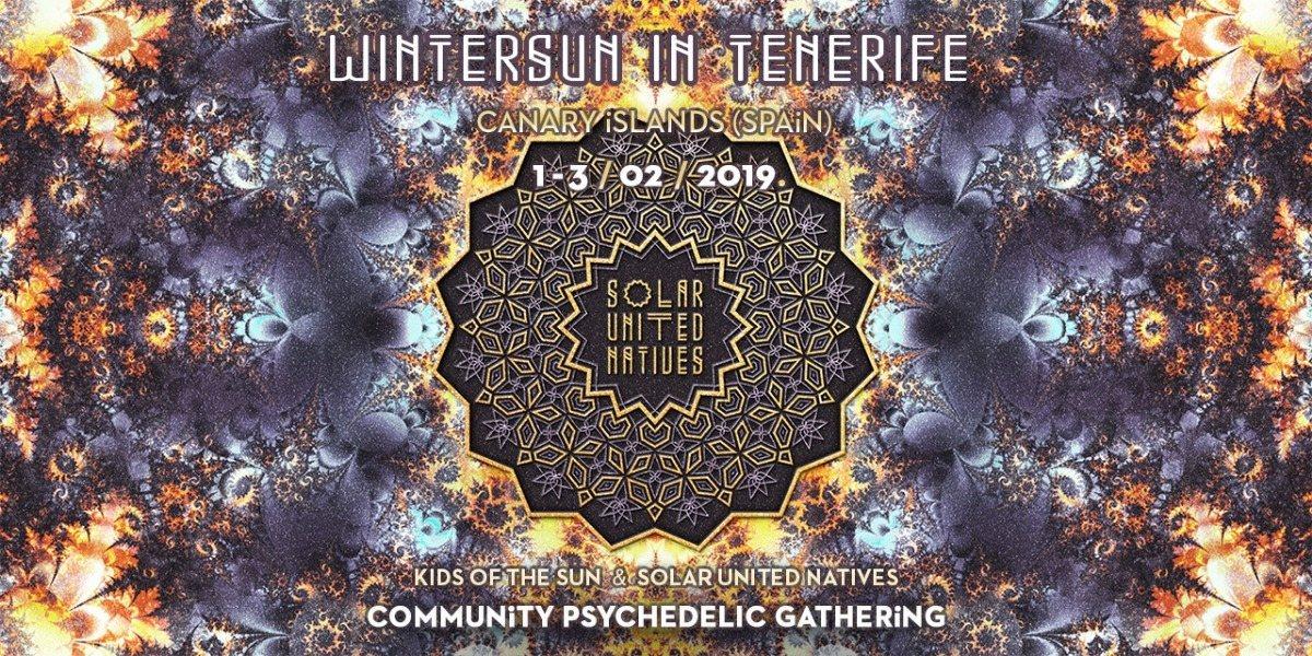 Party Flyer WinterSUN in Tenerife 2019 1 Feb '19, 18:00