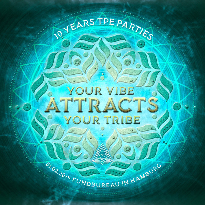 Party Flyer Your vibe attracts your tribe ★ 7 Chakras Warm Up 1 Feb '19, 23:00