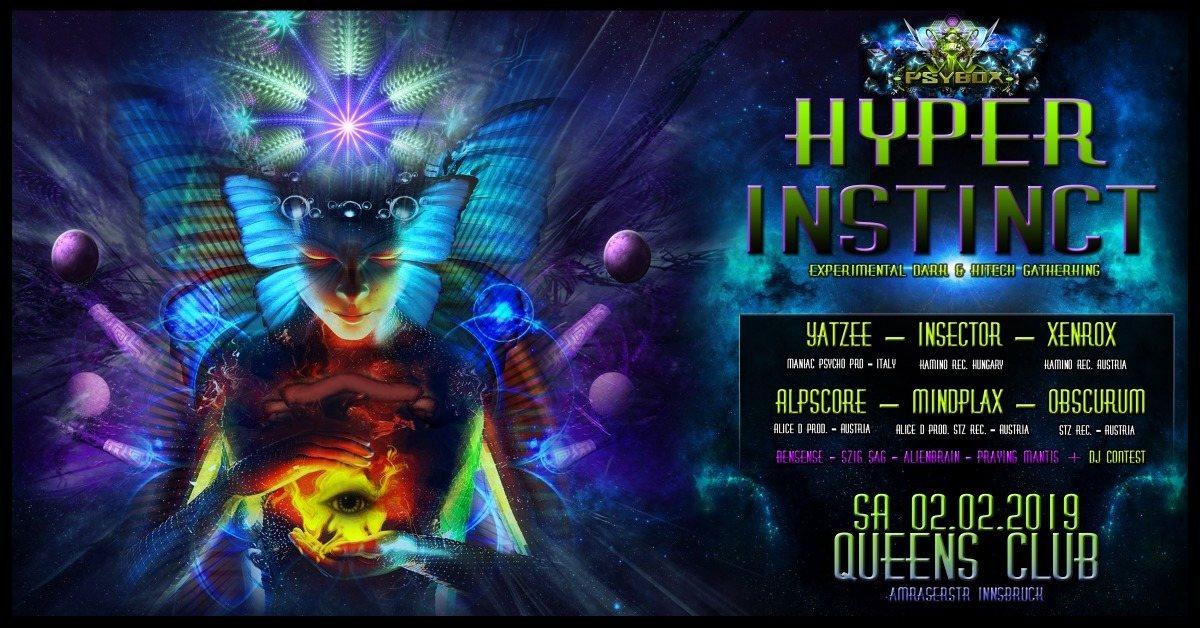 Party Flyer Psybox - Hyper Instinct 2 Feb '19, 22:00