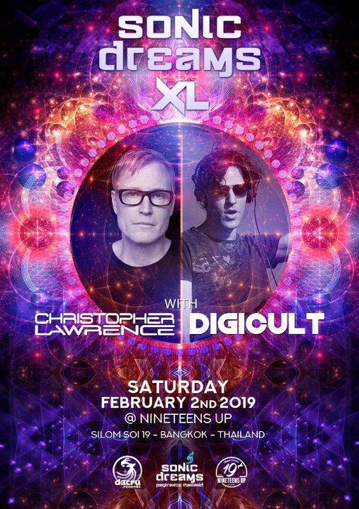 Sonic Dreams XL with Christopher Lawrence & DigiCult 2 Feb '19, 20:00