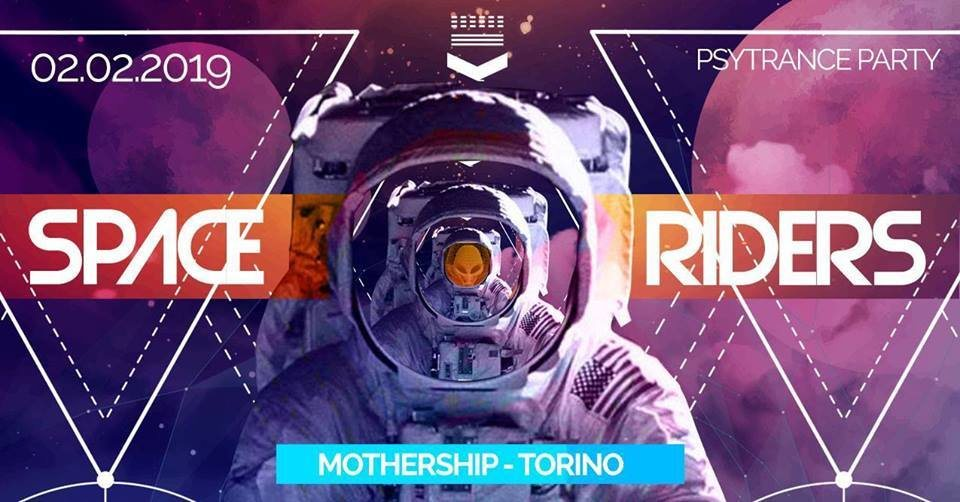 Party Flyer SPACE RIDERS 2 Feb '19, 23:00