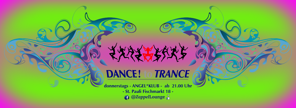Party Flyer DANCE to TRANCE 7 Feb '19, 21:00
