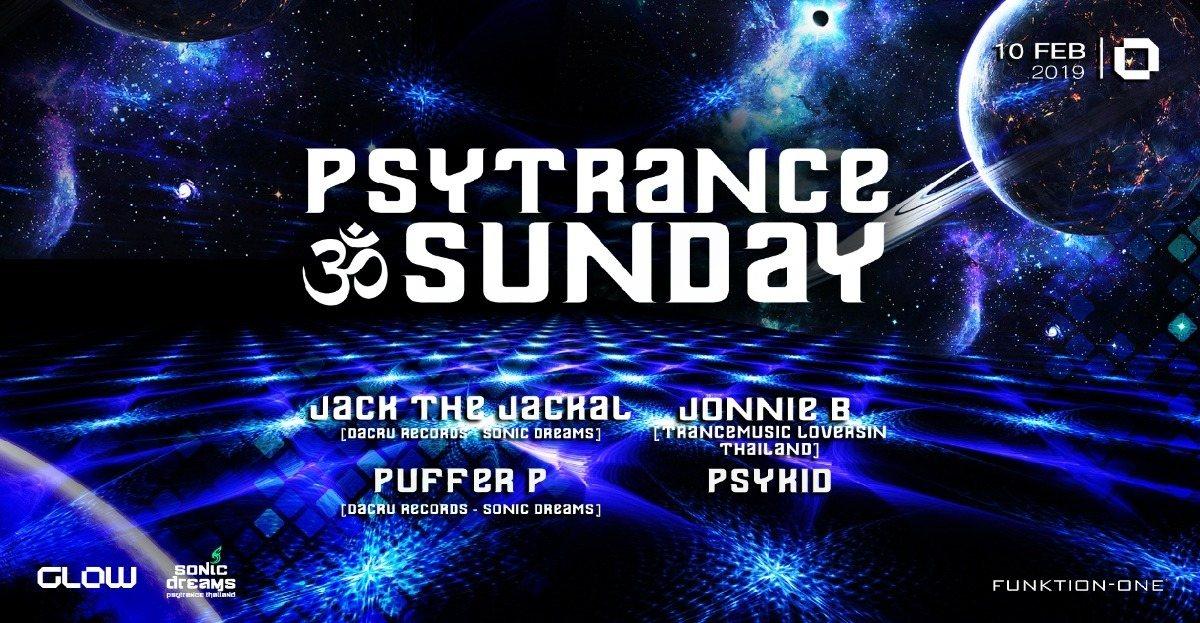 PsyTrance ॐ Sunday at GLOW 10 Feb '19, 21:30