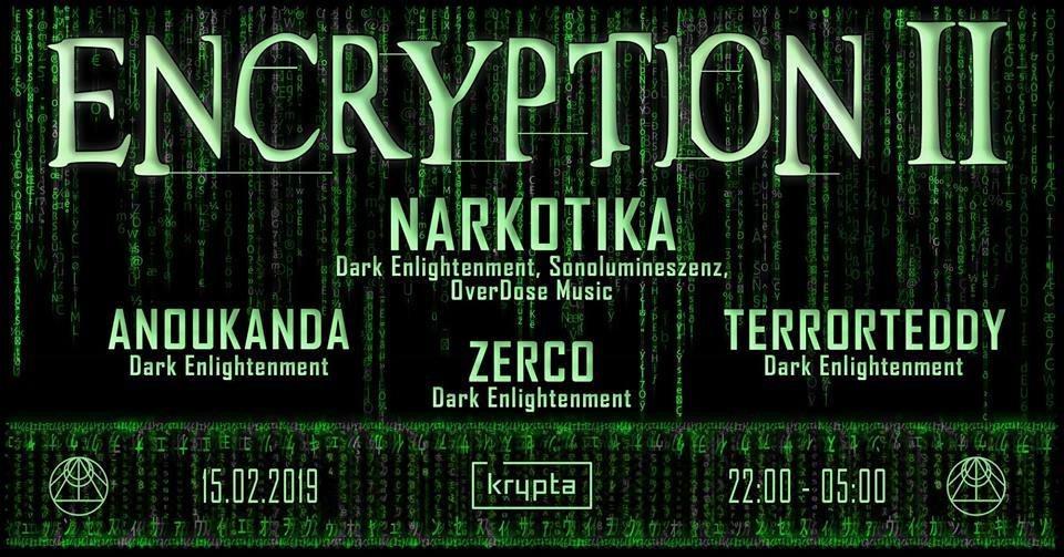 Party Flyer Encryption II 15 Feb '19, 22:00