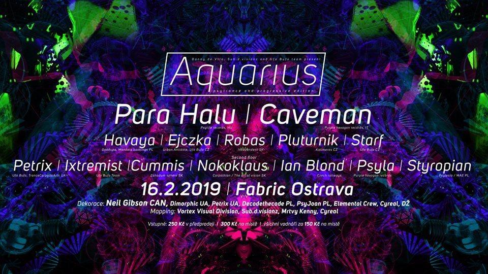 Party Flyer AQUARIUS 16 Feb '19, 21:00