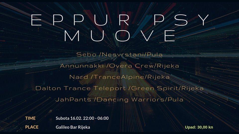 EPPUR PSY MUOVE 16 Feb '19, 22:00