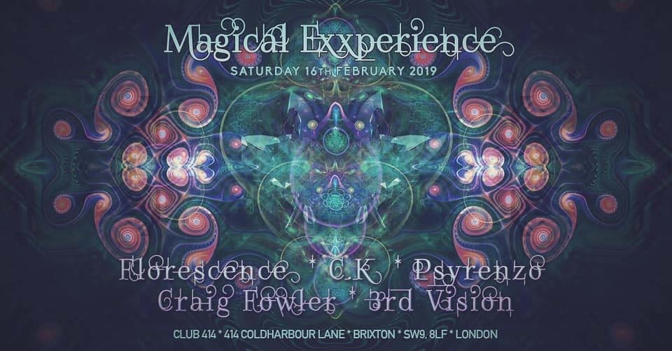 Party Flyer Magical Exxperience 16 Feb '19, 23:00