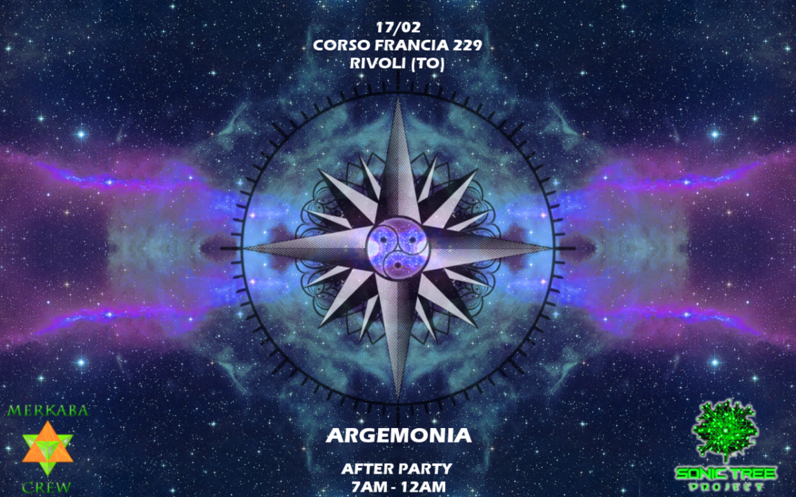 Party Flyer ☾ Argemonia AfterParty ☽ 17 Feb '19, 07:00