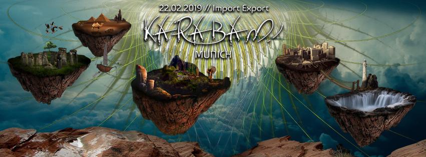 Party Flyer Karabam! - opening - 22 Feb '19, 22:00