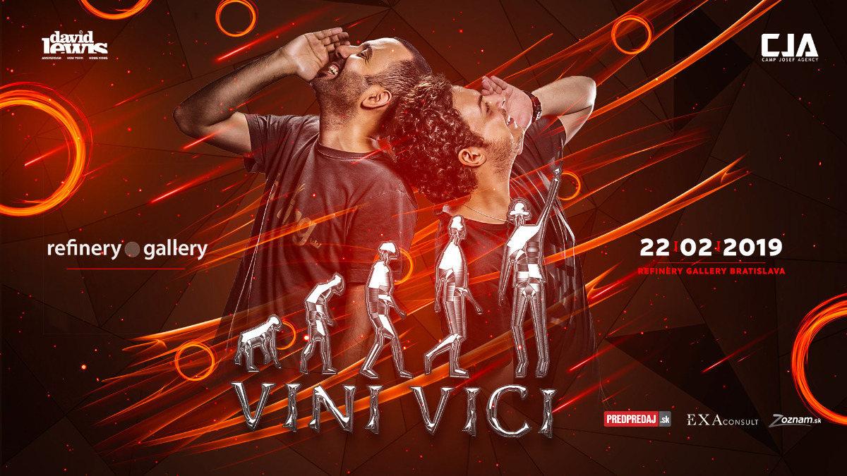 Party Flyer Vini Vici Bratislava - Refinery Gallery 22 Feb '19, 20:00