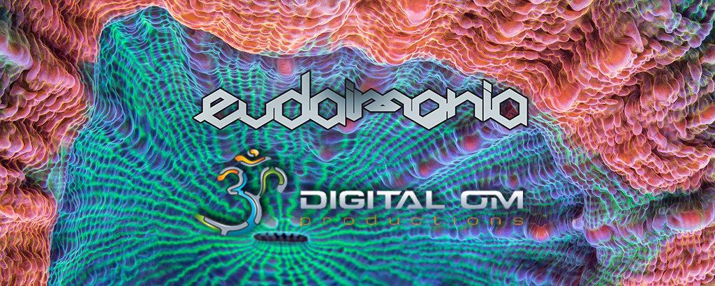 Party Flyer EUDAIMONIA presenta: Digital Om ॐ night 23 Feb '19, 22:00
