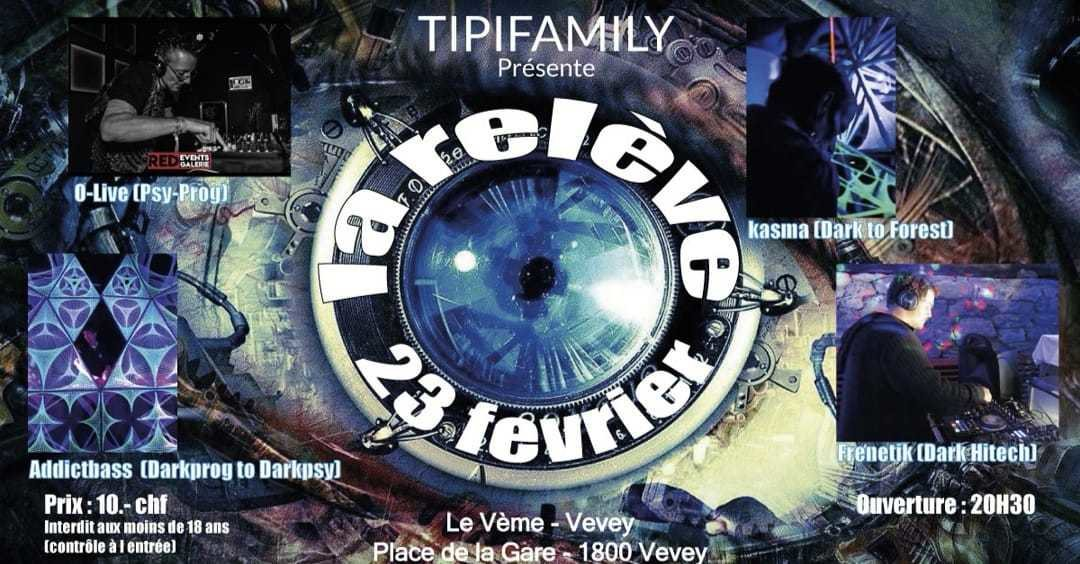 LA RELEVE TIPIFAMILLY + After 23 Feb '19, 20:00