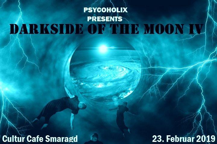 Party Flyer PsycoholiX presents: Darkside of the moon IV 23 Feb '19, 22:00