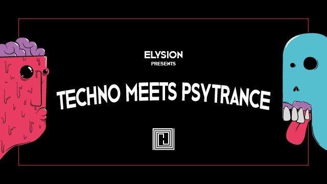 Party Flyer Elysion - Techno meets Psytrance III 1 Mar '19, 23:00
