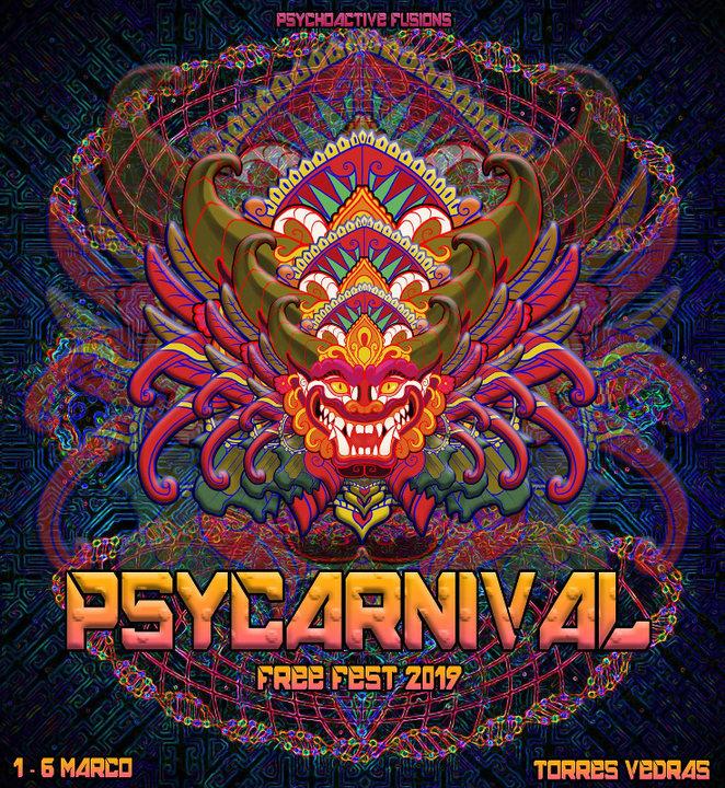 Party Flyer PsyCarnival Free Fest 1 Mar '19, 23:00