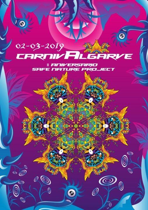 Party Flyer Carnivalgarve 2019-Safe Nature Project 11° Aniversario 2 Mar '19, 22:00